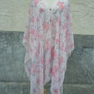 867 Scarf Kaftan Caftan Kimono Sleeves Tunic Beach Cover-ups swim suit Top