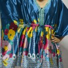 902 Satin Caftan Kaftan Kimono Tunic Cover-ups Top XL