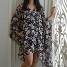 4030 Caftan Kaftan Kimono Tunic Cover-ups Blouse Top M L XL 2XL 3XL