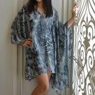 4040 Caftan Kaftan Kimono Tunic Cover-ups Blouse Top M L XL 2XL 3XL