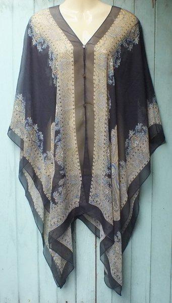 920 Scarf Kaftan Caftan Kimono Sleeves Tunic Beach Cover-ups swim suit Top