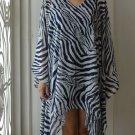 4052 Caftan Kaftan Kimono Tunic Cover-ups Blouse Top M L XL 2XL 3XL