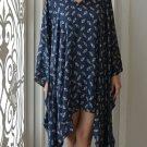 4055 Caftan Kaftan Kimono Tunic Cover-ups Blouse Top M L XL 2XL 3XL