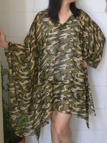 4061 Caftan Kaftan Kimono Tunic Cover-ups Blouse Top M L XL 2XL 3XL