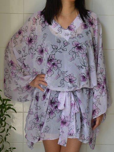 4064 Caftan Kaftan Kimono Tunic Cover-ups Blouse Top M L XL 2XL 3XL