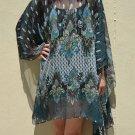 4070 Caftan Kaftan Kimono Tunic Cover-ups Blouse Top M L XL 2XL 3XL