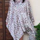 4073 Caftan Kaftan Kimono Tunic Cover-ups Blouse Top M L XL 2XL 3XL