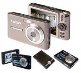 Digital Camera, 12M Pixel, 3.0-inch LCD, 32MB Int.Mem, SD/MMC