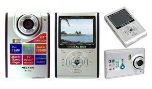 Digital Camera, 12M Pixel, 128MB Int.mem, 2.5-inch Screen