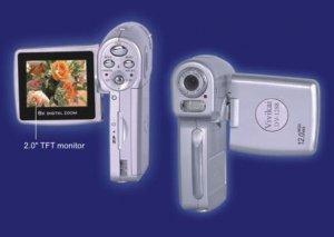 Digital Camcorder, MMC, SD slot, 12.0Mega pixel, USB1.1, TV OUT