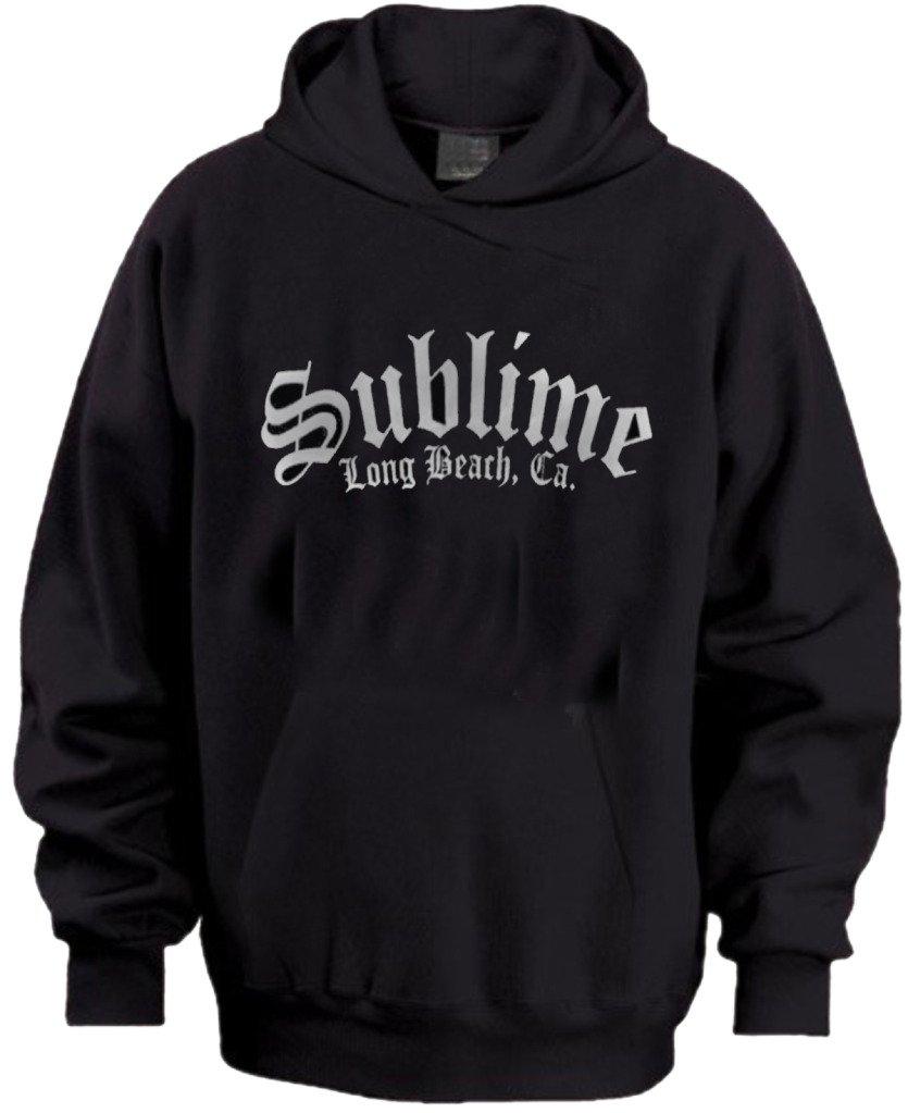 Sublime Long Beach California Mens Hoodie Sizes S-XL