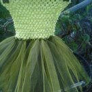 HANDMADE YELLOW / BLACK TUTU DRESS