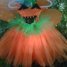 HANDMADE  Lil Diva Pumpkin Tutu Dress