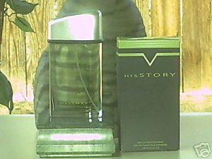 Avon MENS HISSTORY EDT SPRAY 3.4oz