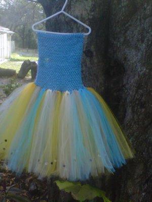 CUSTOM MADE BUTTERFLY TUTU DRESS