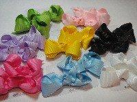 custom made hair bows  8 FOR $20.15