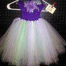 CUSTOM MADE PURPLE/MINT/SAGE/LAVENDER TUTU DRESS 3 FOR $62.15