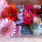 CUSTOM  8 FLOWER HEADWRAP AGE0 TO 10 YEARSOLD