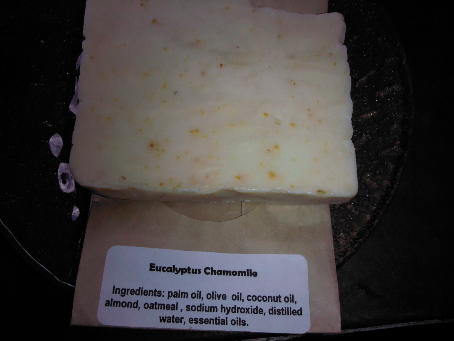 HANDMADE EUCALYPTUS CHAMOMILE  SOAP 2 for $6.75