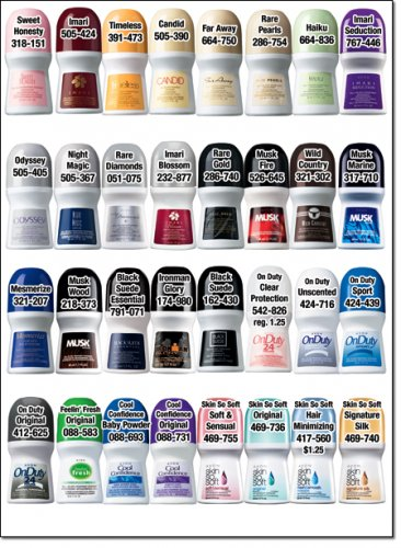 avon deodorant men and women