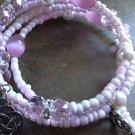 Inspired Pink Memory Bracelet