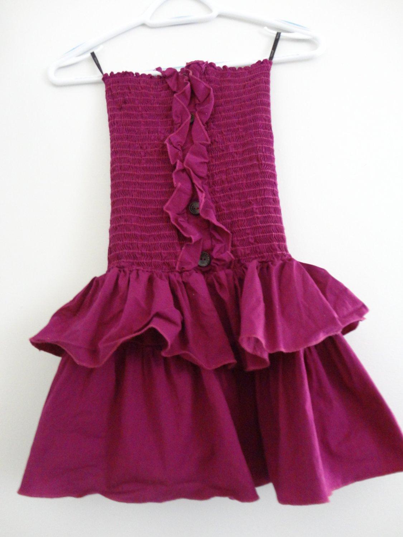 Skinny Forever18 Strapless Dress
