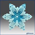 2D Silicone Soap Mold– snowflake #5