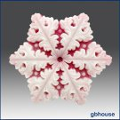 Silicone Soap n Floating Candle Mold  Snowflake 7