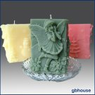 3D Silicone Candle Mold – Gyndolyn, Fairy of Snowflakes