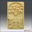 2D Silicone Soap Mold – Tree of Life