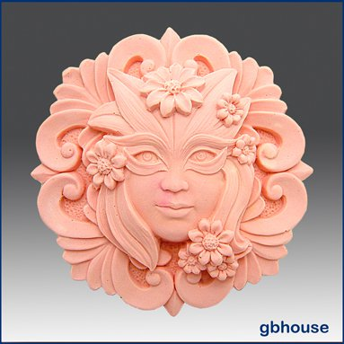 2D Silicone Soap Mold � Muse Round