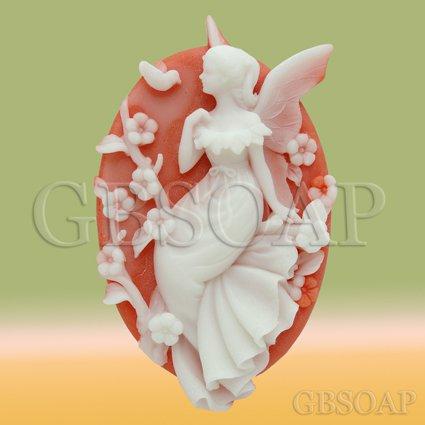 2D Silicone Soap Mold � Melissa the Golden Bough Fairy