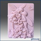 Silicone Soap Mold - Fairy Lovers