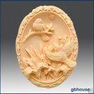 Love Birds -  Silicone soap mold