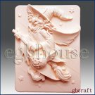 2D Silicone Soap Mold - Whatta Witch! - Free Shipping