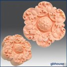 Silicone Soap Mold – Flower & Curled Leaf Rosette