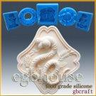 2D Silicone Soap/sugar/fondant/chocolate Mold - Oriental Zodiac Sign - Snake