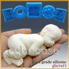 3D Silicone Soap/sugar/fondant/chocolate Mold - Lifelike Baby Chloe