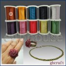 COLORED CRAFT WIRE - 26 gauge 18meters - copper color