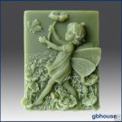 Silicone Soap Mold – Poppy –  Fairy of Remembrance
