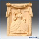 Silicone Soap Mold- Southern Belle in Rose Frame