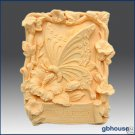 Silicone Soap Mold – Garden Butterfly