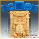 2D Silicone Soap/sugar craft/fondant/chocolate/candy Mold – Sunshine Scarecrow