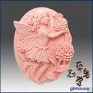 Silicone Soap Mold – Christy the Chrysanthemum Fairy