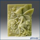 Seasonal fairies - 4 seasons fairy silicone Soap Mold