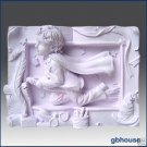 2D Silicone Soap and Candle Mold–Young Wizard's Work