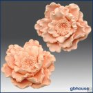 3D Soap and Candle Mold-  Glorious Peony