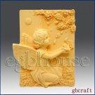 Silicone Soap Mold  -  Petulia,  Fairy of  Flower Petal