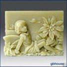 Season fairy - Winter fairy silicone Soap Mold