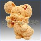 Silicone Soap Mold-Honey Bunny